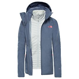 The North Face Inlux Triclimate outdoor jack dames grisaille grey heather