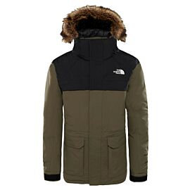 The North Face McMurdo parka winterjas junior new taupe green