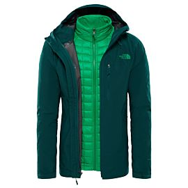 The North Face Thermoball Triclimate outdoor jack heren botanical garden green