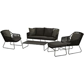 4 Seasons Outdoor Accor loungeset XL anthracite