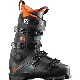 Salomon S/Max 120 skischoenen heren black orange