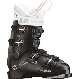 Salomon X Max 110 skischoenen dames black metallic black corail