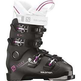 Salomon X Max 80 skischoenen dames black metallic black pink
