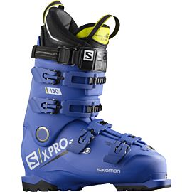 Salomon X Pro 130 skischoenen heren raceblue acid green