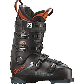 Salomon X Pro 120 skischoenen heren black blue orange