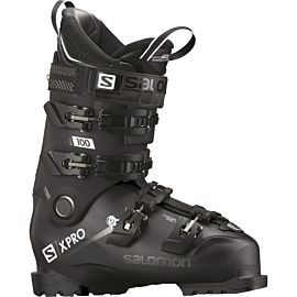Salomon X Pro 100 skischoenen heren black metallic black white