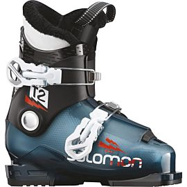 Salomon T2 RT skischoenen junior marrocan blue black white