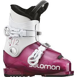 Salomon T2 RT skischoenen junior girly pink white