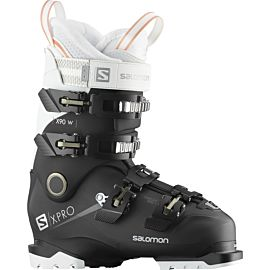 Salomon X Pro X90 CS skischoenen dames black white corail