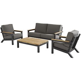 4 Seasons Capitol loungeset anthracite