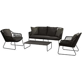 4 Seasons Outdoor Accor loungeset L anthracite