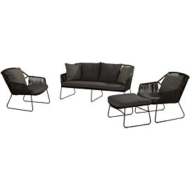 4 Seasons Outdoor Accor loungeset M anthracite