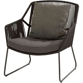 4 Seasons Outdoor Accor loungestoel anthracite