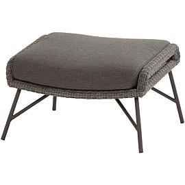 4 Seasons Outdoor Samoa hocker ecoloom charcoal