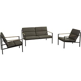 4 Seasons Outdoor Trentino loungeset anthracite