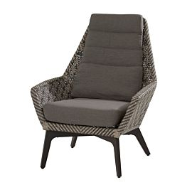 4 Seasons Outdoor Savoy loungestoel seashell