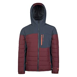 Protest Mount 18 softshell winterjas heren merlot