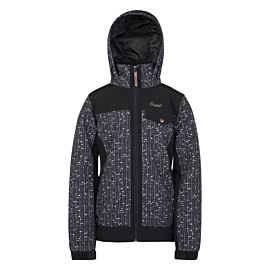 Protest Dream softshell winterjas junior true black
