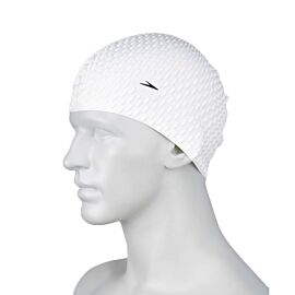 Speedo Bubble Cap badmuts white