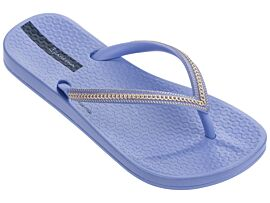 Ipanema Anatomic Metallic slippers junior blue rose