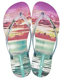 Ipanema Wave Tropical slippers dames green
