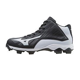 Mizuno 9 Spike Franchise 8 MID 11GP158790 korfbalschoenen junior black white