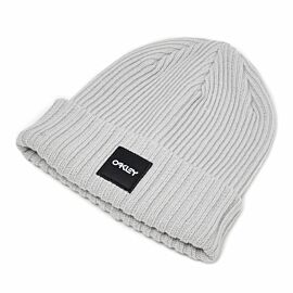 Oakley Beanie Ribbed muts heren light grey
