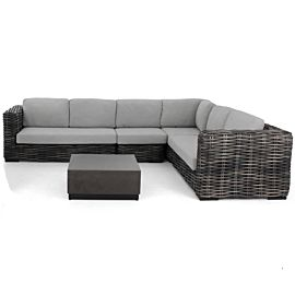 Apple Bee Elements XL loungeset black wash