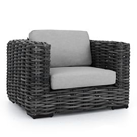Apple Bee Elements XL loungestoel black wash