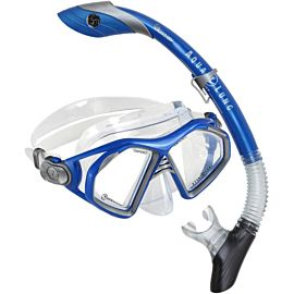 Aqua Lung Trooper snorkelset blue