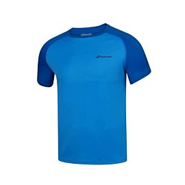 Babolat Play tennisshirt heren blue aster