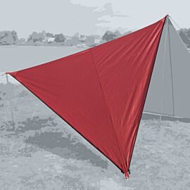 Bent Canvas Plain Set tarp 250 x 250 x 250 barbados cherry