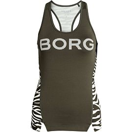 Björn Borg CLE Racerback tanktop dames forest night