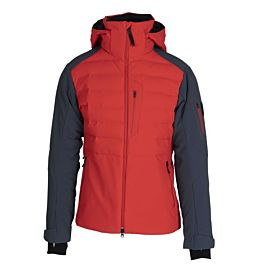 Bogner Erik Down winterjas heren lava red