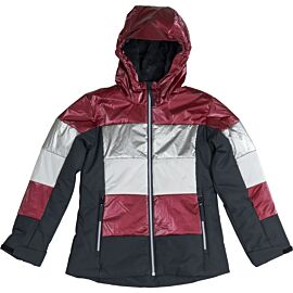 CMP Fix Hood winterjas junior magenta