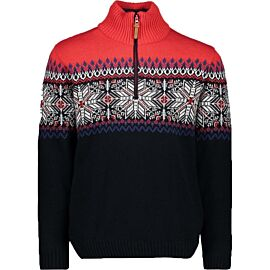 CMP Pullover Norwegian outdoor trui heren black blue