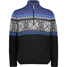 CMP Pullover Norwegian outdoor trui heren nero