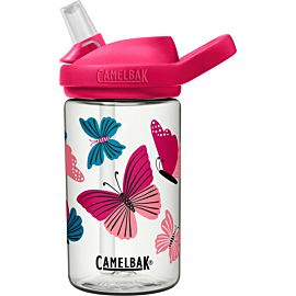 CamelBak Eddy + drinkfles 400 ml colorblock butterflies