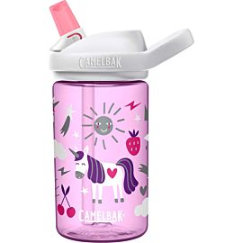 CamelBak Eddy + drinkfles 400 ml unicorn party
