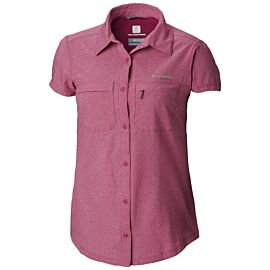 Columbia Irico Short Sleeve blouse dames haute pink heather