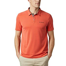 Columbia Nelson Point polo heren wildfire