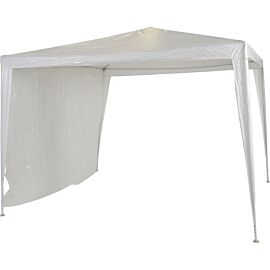 DWS zijwand partytent wit