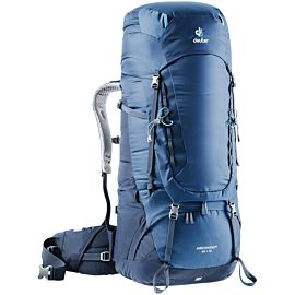 Deuter Aircontact 65 + 10 rugzak midnight navy