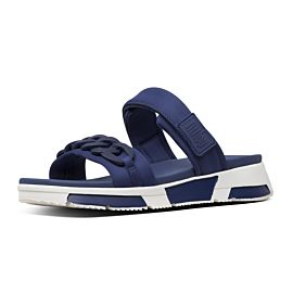 FitFlop Heda Chain Slides slippers dames midnight navy