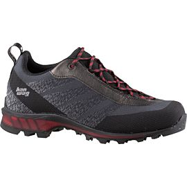Hanwag Ferrata Light Low GTX 100300 wandelschoenen heren black red