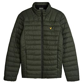 Lyle & Scott Lightweight Wadded winterjas heren deep spruce