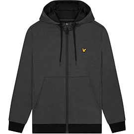 Lyle & Scott Superwick Full Zip vest heren true black