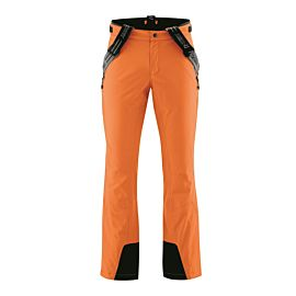 Maier Sports Copper Slim short size skibroek heren persimmon orange
