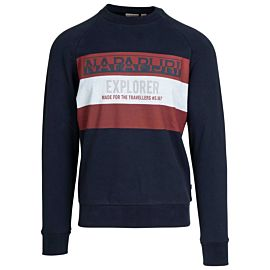 Napapijri Boves sweater heren blu marine