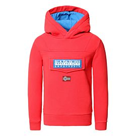 Napapijri Burgee Hoody trui junior high risk red